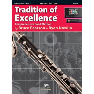 tradition of excellence 1-bass clarinet