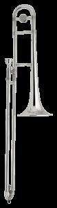 intermediate rental trombone silver