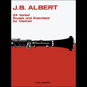 24 varied scales by albert - clarinet