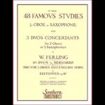ferling 48 famous studies for oboe