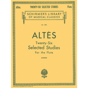 altes 26 selected studies flute