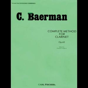 baermann clarinet method