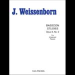 60 advanced studies op 8 no 2 for bassoon-weissenborn
