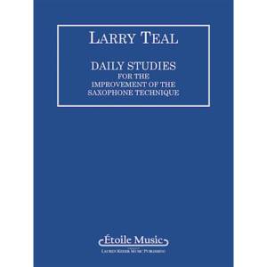 daily studies for the improvement saxophone technique