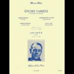etudes variees for saxophone-mule