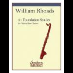 rhoads foundation studies bass clarinet