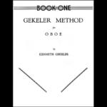 gekeler oboe method book one