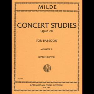 50 concert studies for bassoon-milde