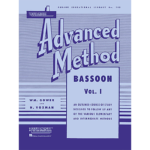 rubank advanced vol 1 method bassoon