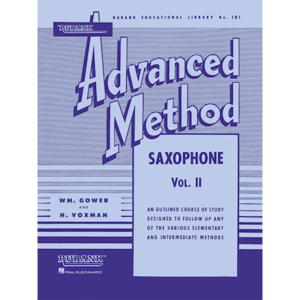 rubank adv vol 2 saxophone