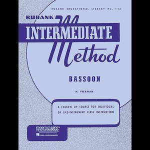 rubank intermediate bassoon
