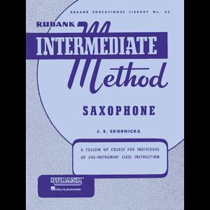 rubank intermediate saxophone