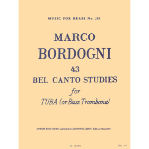 43 Bel Canto Studies for Tuba