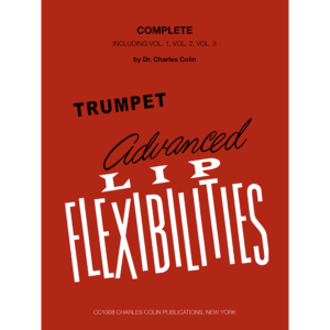 colin advanced lip flexibilities for trumpet