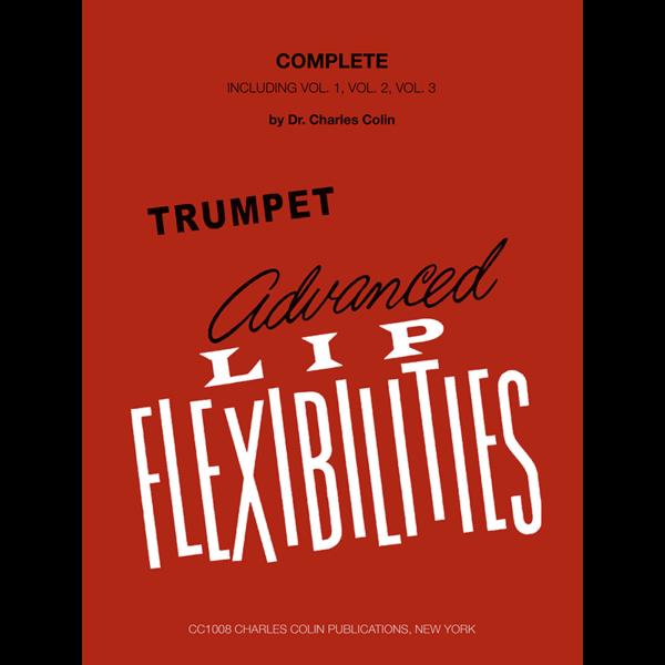 colin advanced lip flexibilities for trumpet