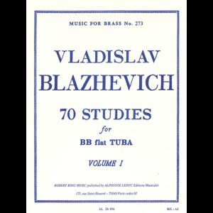 blazhevich 70 studies vol1 tuba