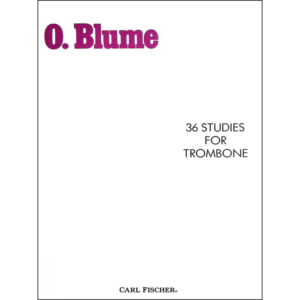 blume-36 studies for trombone