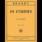brandt-34 studies for trumpet