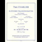 charlier-36 transcendental etudes for trumpet