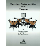 exercises etudes and solos timpani