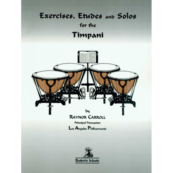 exercises etudes and solos timpani
