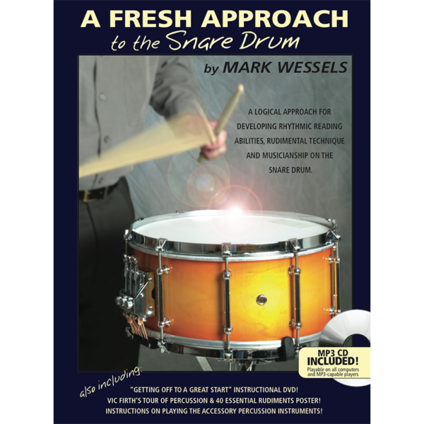 fresh approach to snare drum-wessels