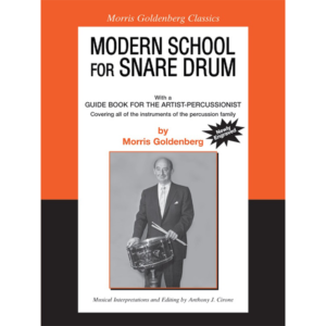 modern school for snare drum-goldenberg