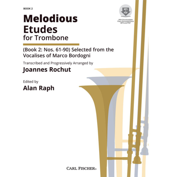 rochut-melodious etudes bk2 trombone
