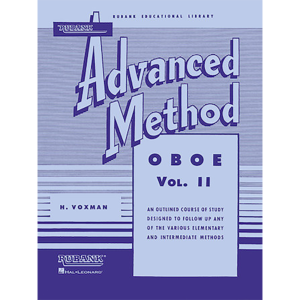 rubank adv vol 2 oboe