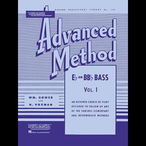 Rubank Advanced Method Vol 1 for Tuba