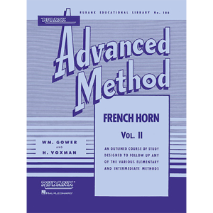 rubank adv vol 2 horn method