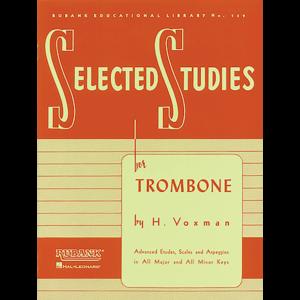 selected studies trombone