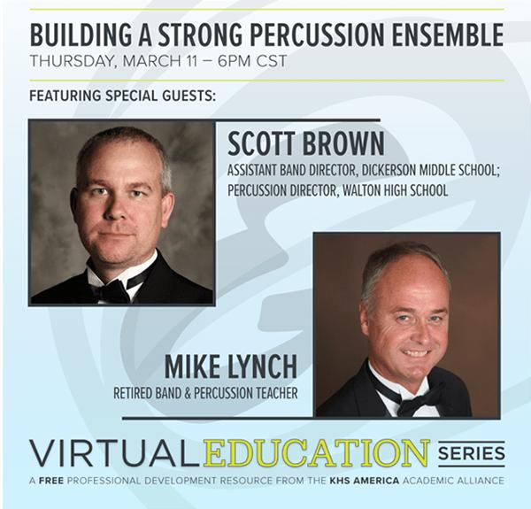 building a strong percussion ensemble